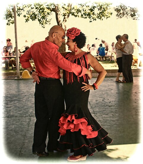 Flamenco Dance by Aase