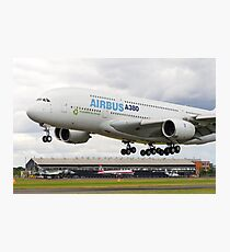 A380 Lands Photographic Print