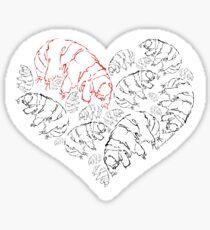 Tardigrade Valentine Sticker