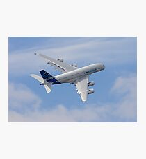 A380 Turns Photographic Print