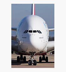 A380 Face On Photographic Print