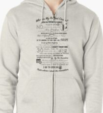 The Office: Dwight's Perfect Crime Zipped Hoodie