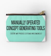 Manually Operated Concept Generating Tools  Studio Pouch