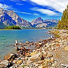 Upper Kananaskis Lake, Alberta, Canada by Laurast