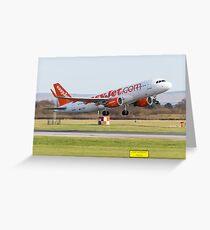 Easyjet A320 Greeting Card
