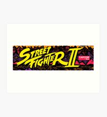 street fighter 2 Art Print