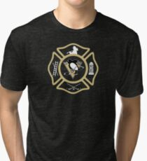 Pittsburgh Fire - Penguins style Tri-blend T-Shirt
