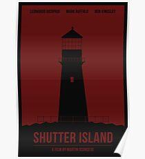Shutter Island film poster Poster