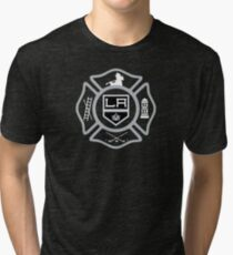 LAFD - Kings style Tri-blend T-Shirt