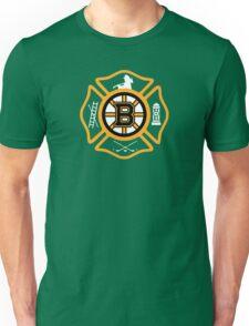 Boston Fire - Bruins style Unisex T-Shirt
