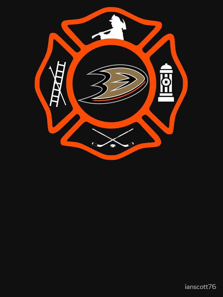 Anaheim Fire - Ducks style by ianscott76