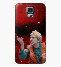 Angry Space Boy Case/Skin for Samsung Galaxy