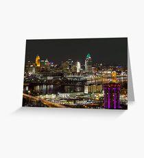 Cincinnati from Devou Greeting Card