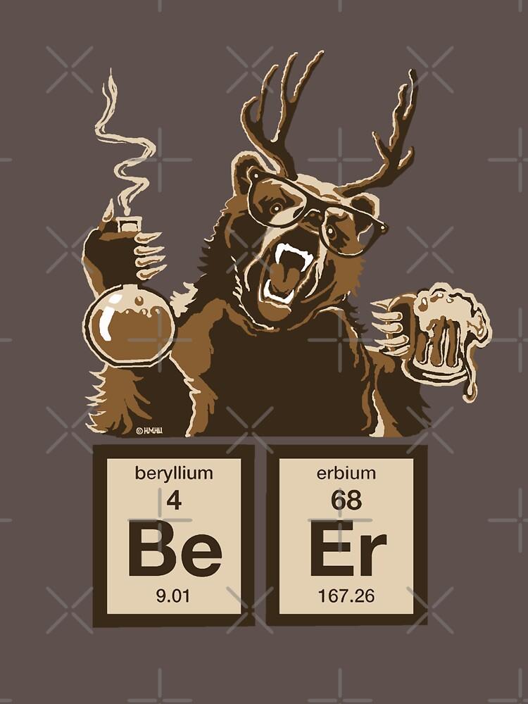 Chemie Bär entdeckt Bier von NewSignCreation