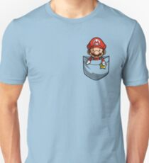 Pocket Mario  Unisex T-Shirt