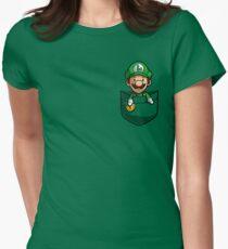 Pocket Luigi Tshirt Women's Fitted T-Shirt