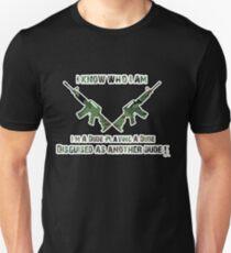 Camiseta ajustada Tropic Thunder - Soy un granjero líder (Robert Downey Jr)