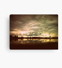 You in a Landscape Canvas Print