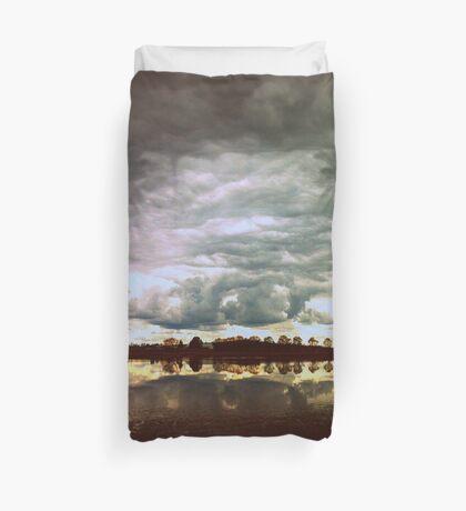 You in a Landscape Duvet Cover
