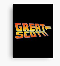 Great Scott! (Back To The Future) Canvas Print