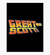Great Scott! (Back To The Future) Photographic Print