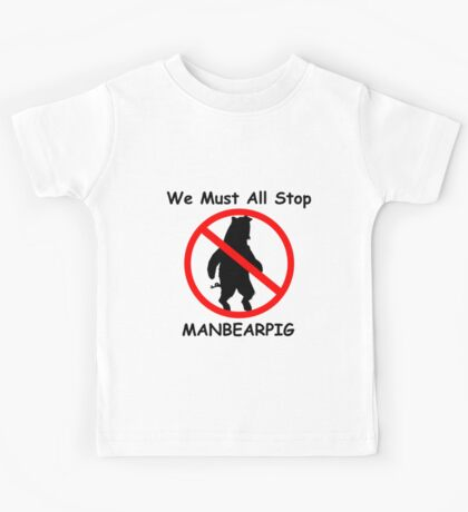 MANBEARPIG (South Park) (Al Gore) Kids Clothes