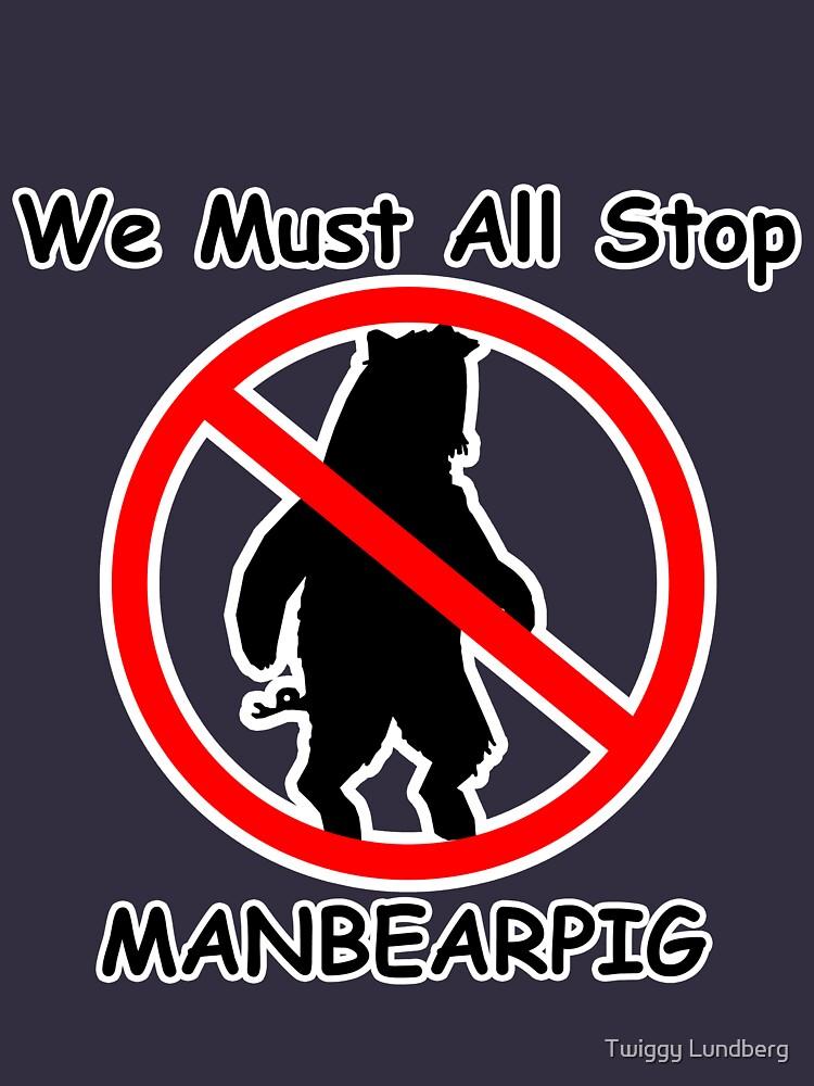 MANBEARPIG (South Park) (Al Gore) by JayBakkerArt