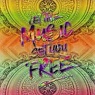 Let the Music Set You Free Rainbow Opera Garnier Paris by Beverly Claire Kaiya