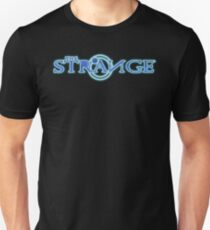 The Strange Colored Logo-Unisex T-Shirts Slim Fit T-Shirt