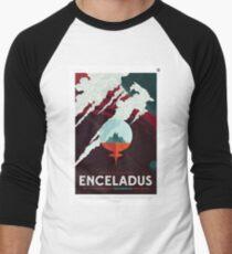 Besuchen Sie den wunderschönen südlichen Enceladus Baseballshirt mit 3/4-Arm