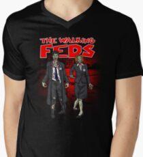 Zombie Feds Men's V-Neck T-Shirt