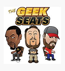 The Geeks Seats Photographic Print