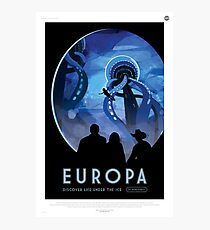 Europa: Discover Life Under the Ice Photographic Print