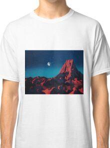 Space art landscape: Loneliness Classic T-Shirt