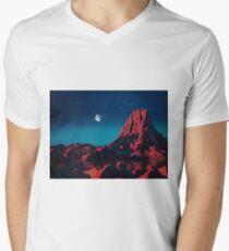 Space art landscape: Loneliness Mens V-Neck T-Shirt