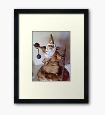 """ Wizard "" Framed Print"