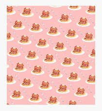 Pancake Pattern Photographic Print