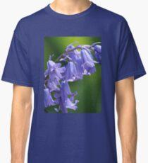 Violet-Blue English Bluebells Classic T-Shirt