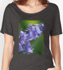 Violet-Blue English Bluebells Women's Relaxed Fit T-Shirt