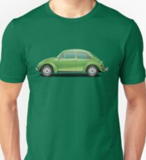1975 Volkswagen Super Beetle - Viper Green Metallic Unisex T-Shirt