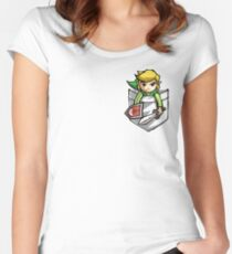 Pocket Link  Women's Fitted Scoop T-Shirt