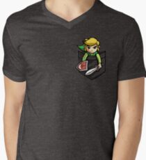 Pocket Link  Men's V-Neck T-Shirt