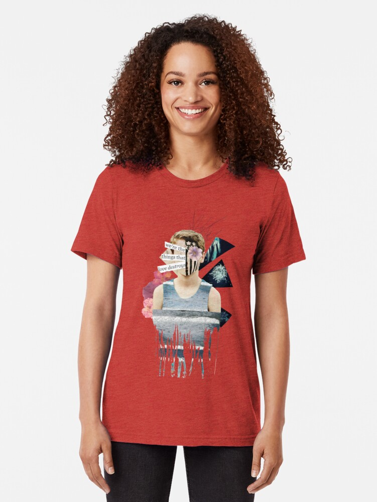 Alternative Ansicht von wir sind die Dinge, die Liebe zerstört Vintage T-Shirt