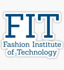 FIT & Fashion Institute of Technology  Sticker