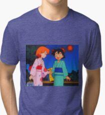 Pokeshipping  Tri-blend T-Shirt