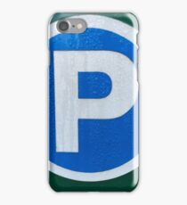 Vancouver Urban Alphabet - P iPhone Case/Skin