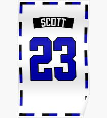 Nathan Scott 23 Jersey Poster