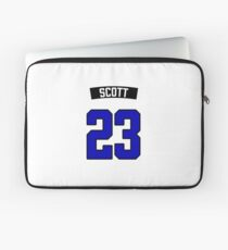 Nathan Scott 23 Jersey Laptop Sleeve