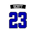 Nathan Scott 23 Jersey by seeleybooth