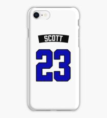 Nathan Scott 23 Jersey iPhone Case/Skin